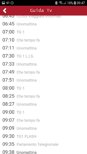 Pocket Italia - Tv 1.0 screenshots 2
