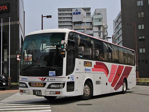 西鉄高速バス「桜島号」 3913