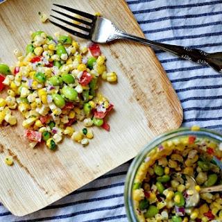 Roasted Corn & Edamame Succotash