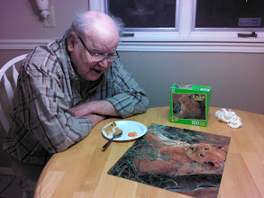 Photo: Bill- 1st puzzle at Home Sweet Home - Feb. 2012