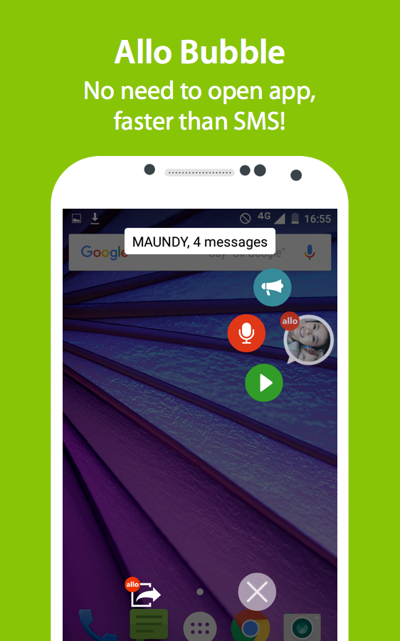 ALLO: Group Voice Chat- screenshot