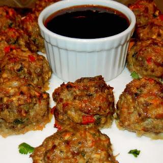 Jamaican Jerk Meatballs.