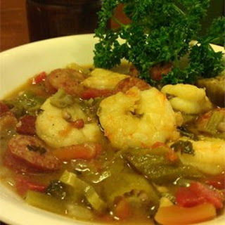 Husband's Grandmother's Shrimp Gumbo