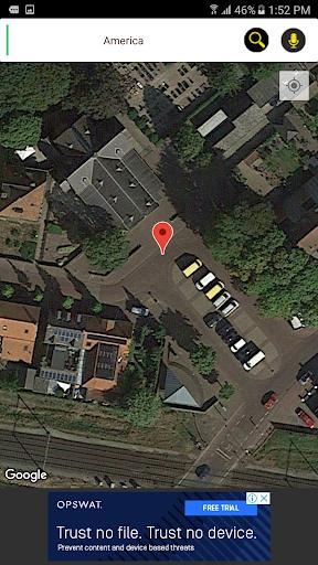 Gps live satellite view : Street & Maps 3.2 screenshots 4