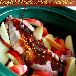 Slow-Cooker Apple Maple Pork Tenderloin.