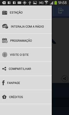 Nativa FM 95,1 - screenshot