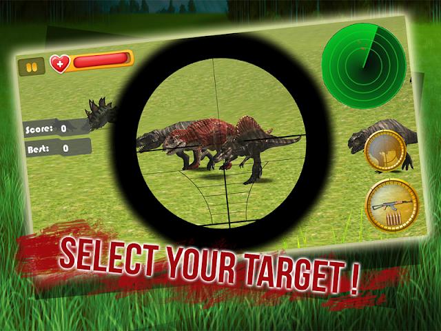 android Sniper Dino 3D: World Jurassic Screenshot 2