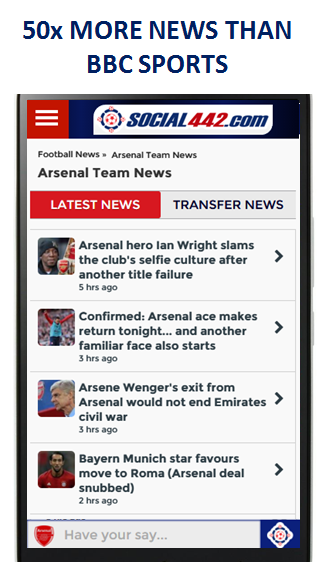 Social442 Football |  Official App- screenshot