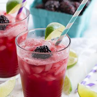Blackberry Lime Soda