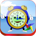 Tell Time for Kids First Grade icon