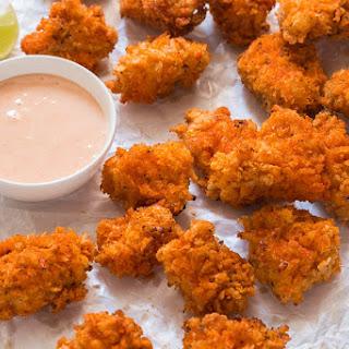 KFC Style Spicy Popcorn Chicken.