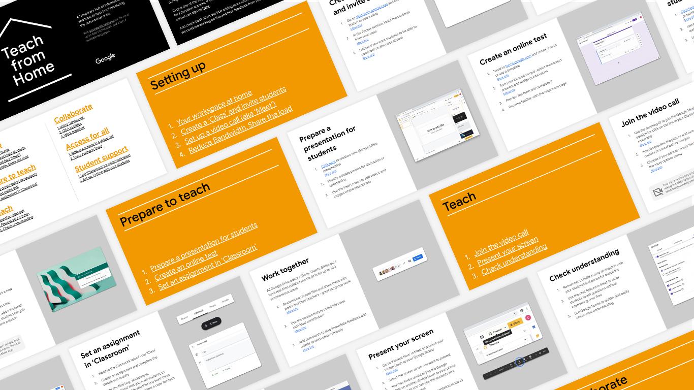 Teach from Anywhere PDF slides