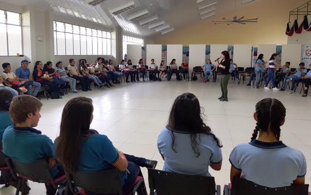 Imagen REDES DE JÓVENES PARTICIPA EN PROCESOS DE SENSIBILIZACIÓN PARA PREVENIR USO DE DROGAS