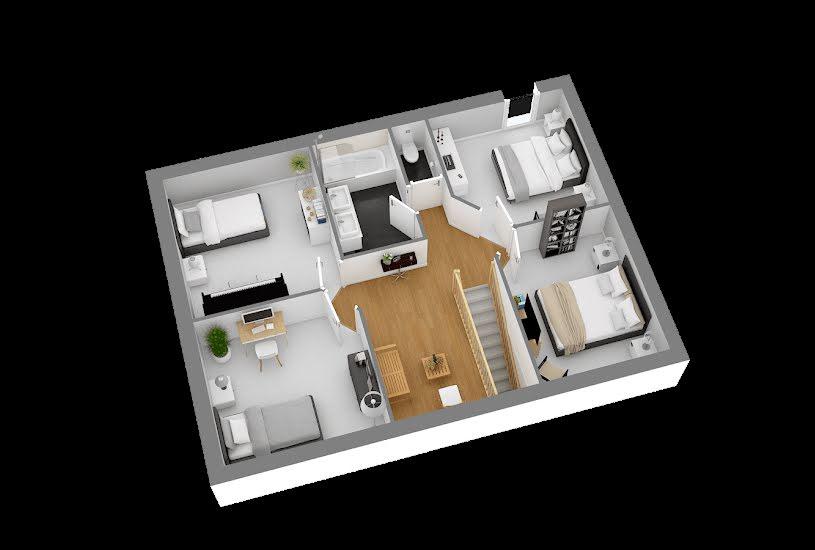 Vente Terrain + Maison - Terrain : 453m² - Maison : 112m² à Les Mureaux (78130)