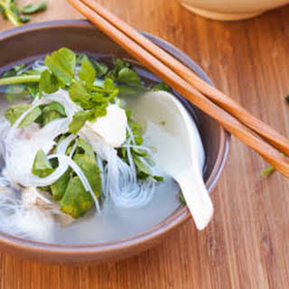Halibut and Watercress Soup {Gluten-Free, Dairy-Free}.