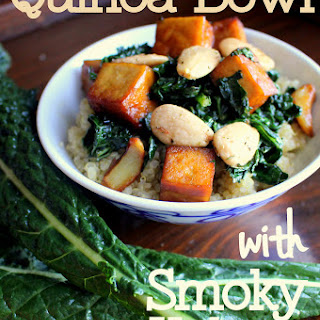 Quinoa with Smoky Kale & Tofu Recipe