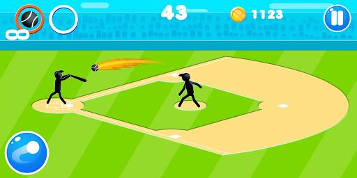 Stickman Baseball  screenshots 1