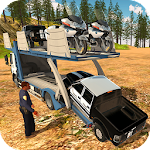 Offroad Police Pickup Truck Transport Simulator