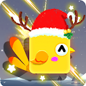 Square Bird:Casual Flying Game icon