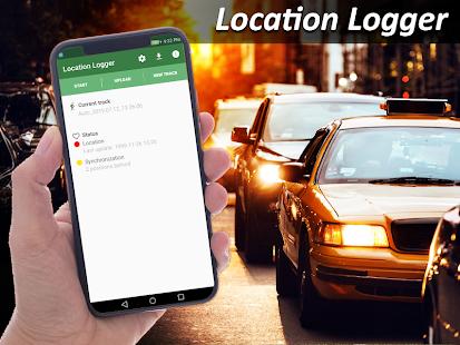 Location Logger - náhled