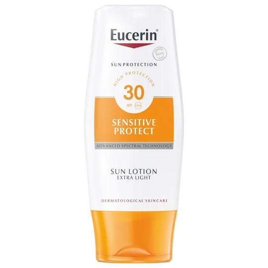 Eucerin Sensitive Sun Lotion Extra Light SPF 30, 150 ml