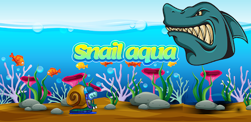Dive with snail in the depths of the ocean for intense adventure it's for kids