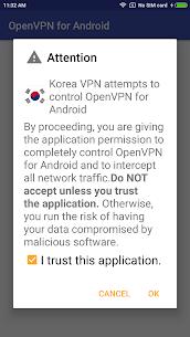 Korea VPN – Plugin for OpenVPN App Download For Android 1