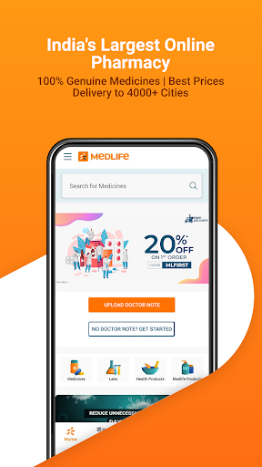Medlife - India's Largest E-Health Platform screenshot 1