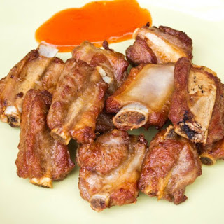 Deep Fried Spareribs with Sweet and Pungent Sauce.