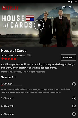 Netflix 3.14.2 build 5186 screenshot 24651