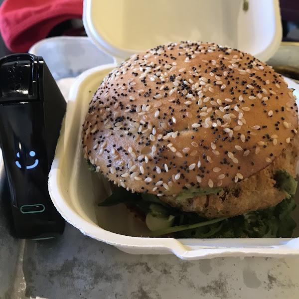 Torta Frita burger