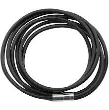 Tim Holtz Assemblage Bracelet Magnetic Enclosure - Black Corded