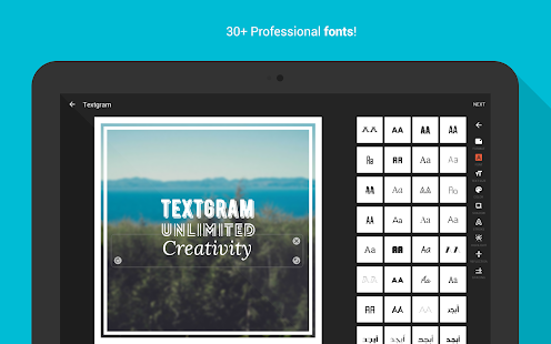 App Textgram - write on photos APK for Windows Phone