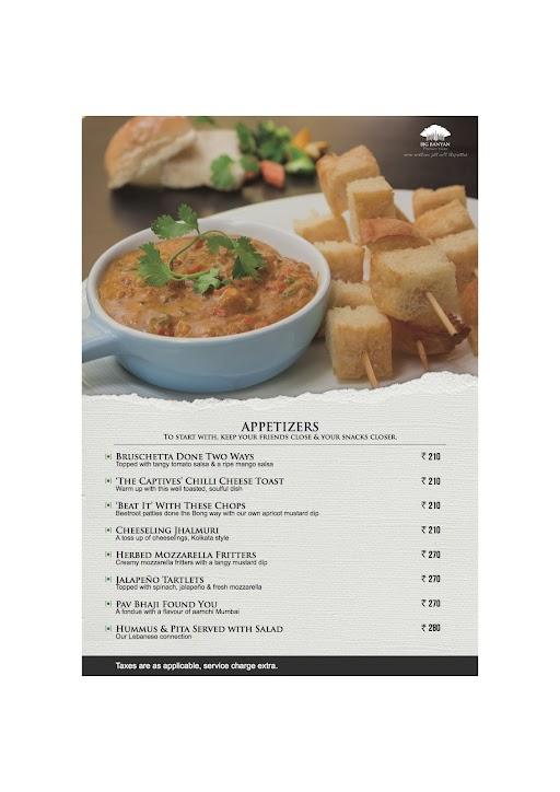 The Fat Chef menu 3