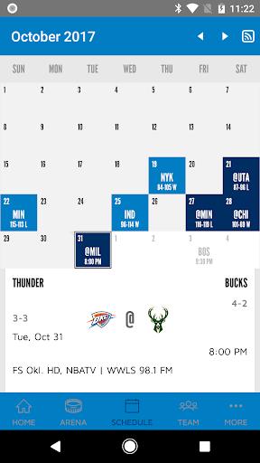 Oklahoma City Thunder 2.2.6 screenshots 5