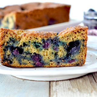 Zucchini Blueberry Bread