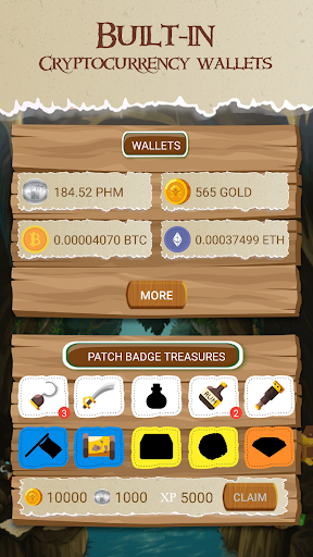 Crypto Treasures 0.1.2 APK MOD screenshots 2
