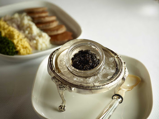 HAL-Pinnacle-Caviar.jpg - Care for caviar? Head to the upscale Pinnacle Grill on your Holland America sailing.