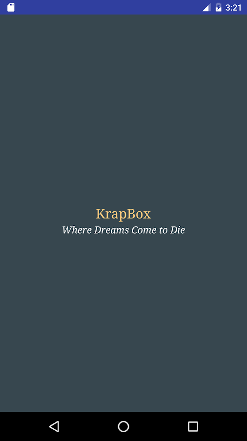 KrapBox- screenshot