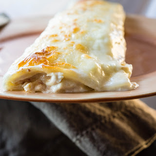 Creamy Cheesy Chicken Enchiladas