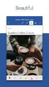 Microsoft Word: Write, Edit & Share Docs on the Go 16.0.12130.20208 beta