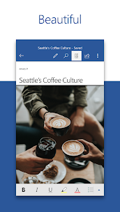Microsoft Word APK: Write, Edit & Share Docs on the Go 1