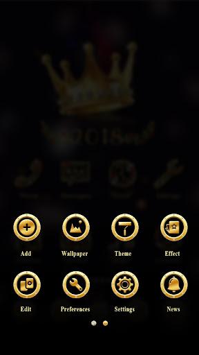 Hello 2018 GO Launcher Theme v1.0 screenshots 5
