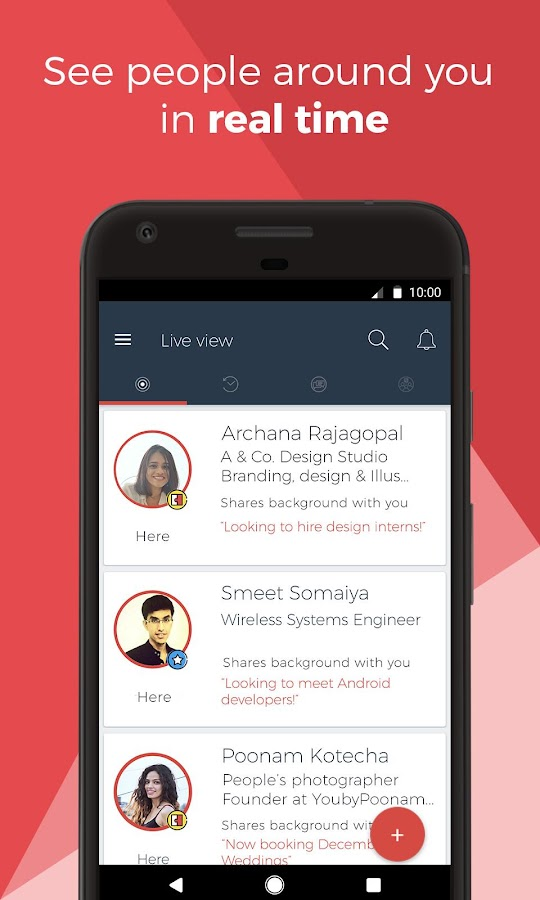 Ohai - Live Networking App for Professionals- screenshot