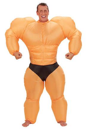 Dräkt, Uppblåsbar bodybuilder