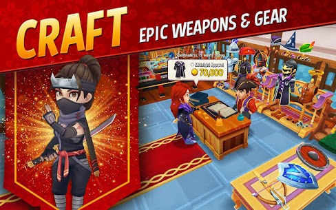 Shop Titans: Epic Idle Crafter, Build & Trade RPG 2