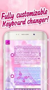 Pink Butterfly Keyboard Emoji - náhled