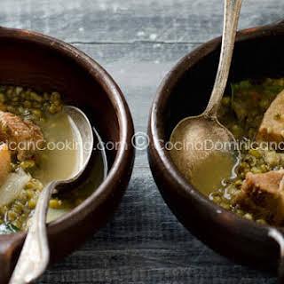 Pigeon Peas and Pork Roast Stew.