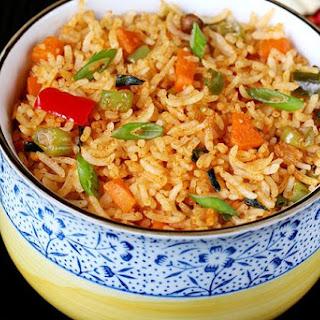 Schezwan Fried Rice Recipe | How to Make Schezwan Fried Rice Recipe