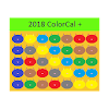 2018 USPS ColorCal Green D Coded Calendar carriers APK